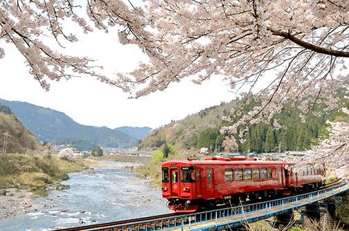 観光列車「ながら」景色